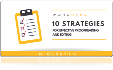10 strategies for effective proofreading