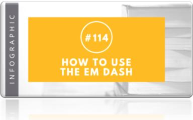 114 - how to use the em dash