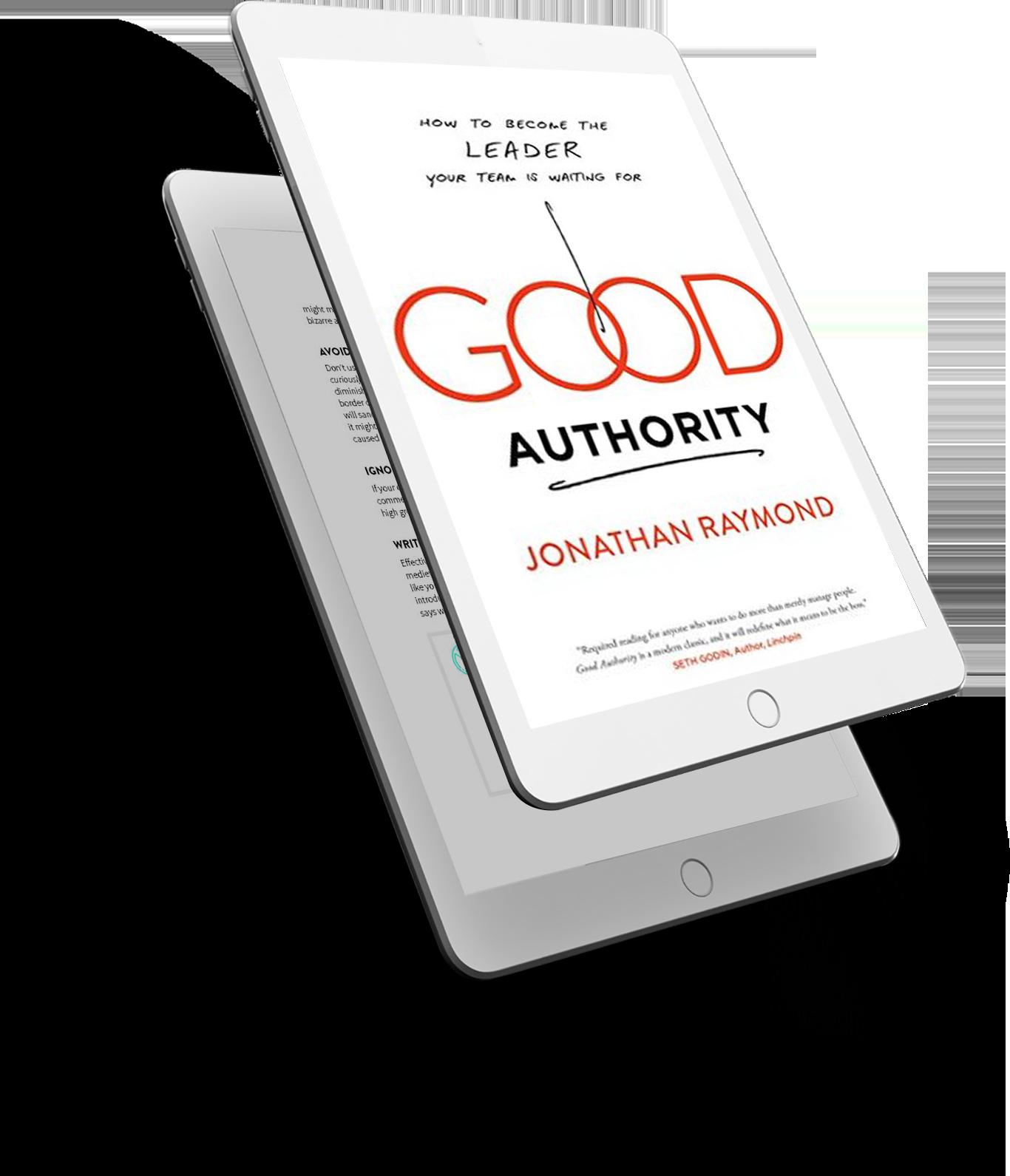 Good Authority Book - 3D