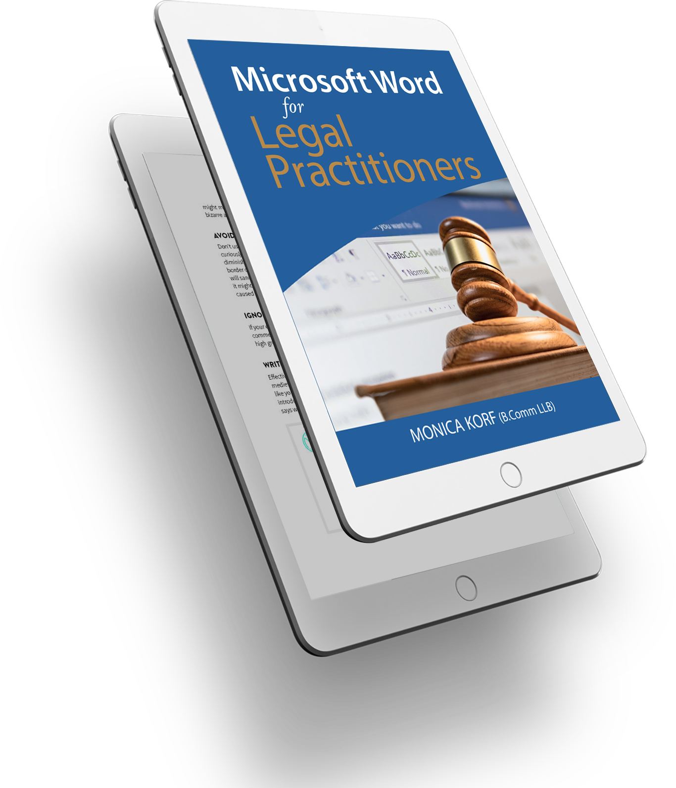 MS-WORD-Lawyers Book Cover - 3D