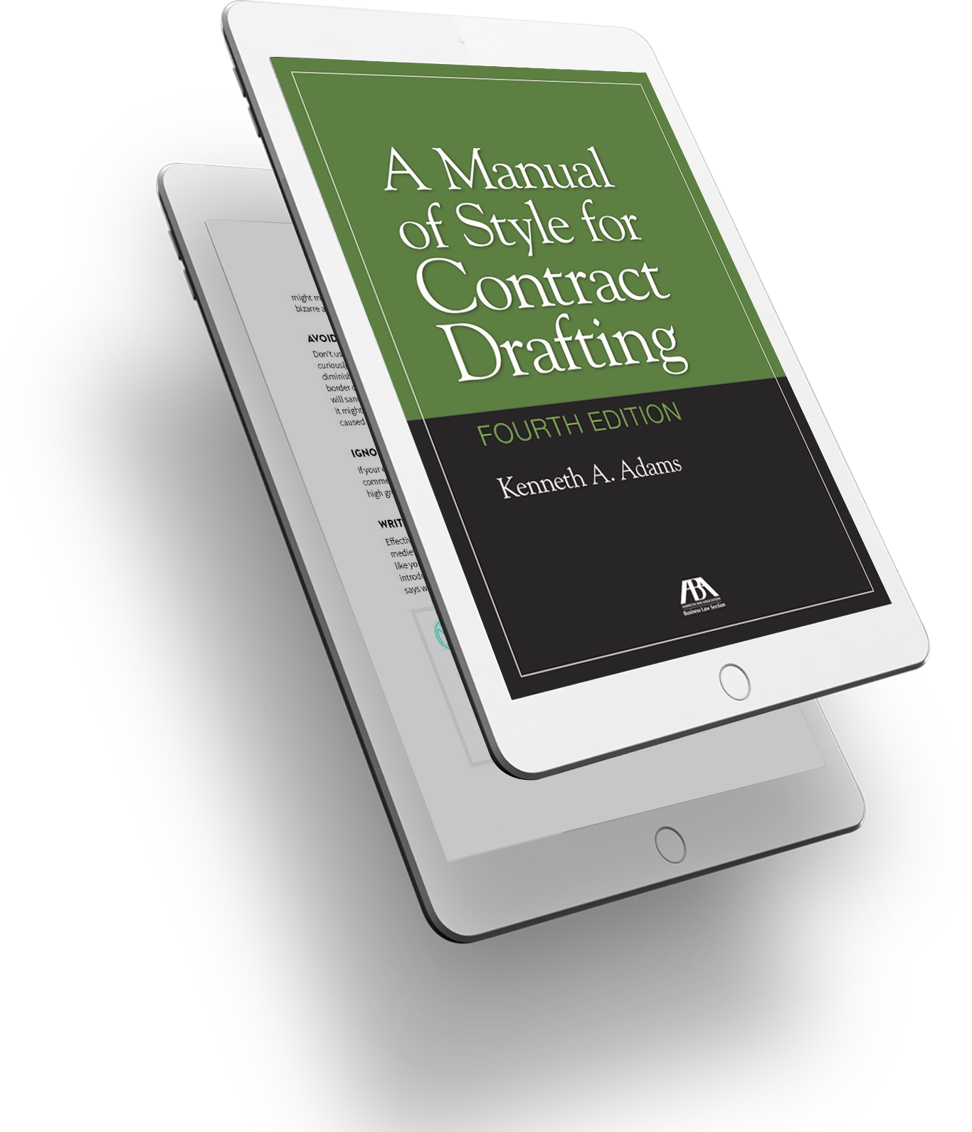 Manual of Style for Contract Drafting Cover-3D