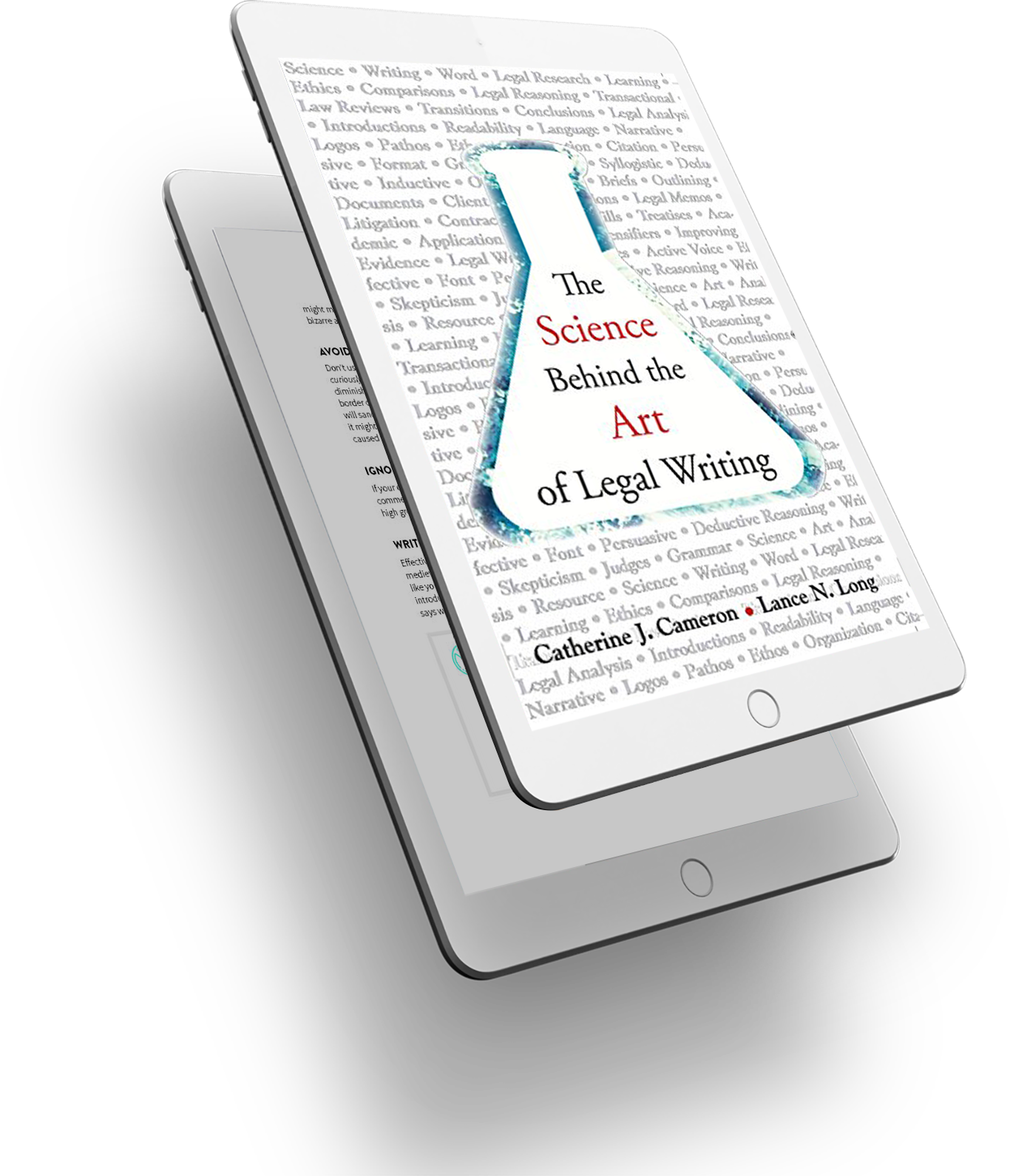 The Science Behind the Art of Legal Writing Cover - 3D