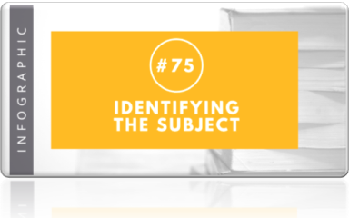 75 - Indentifying the subject