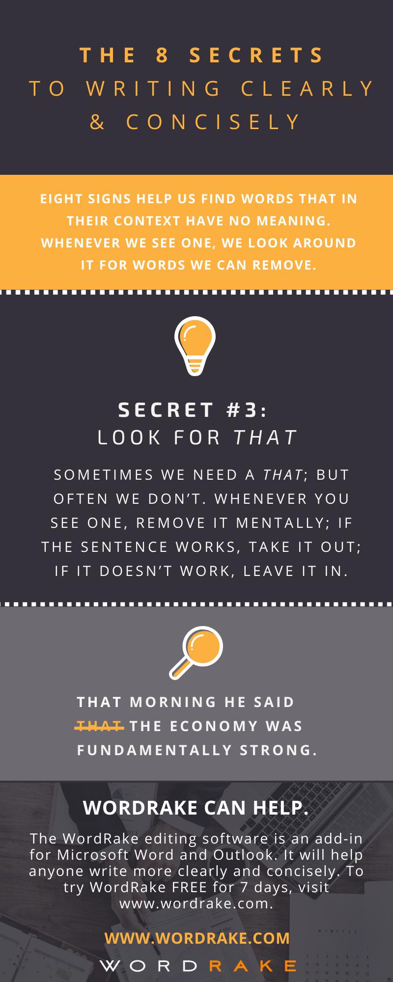 Concise Secret 3 - That (Long)