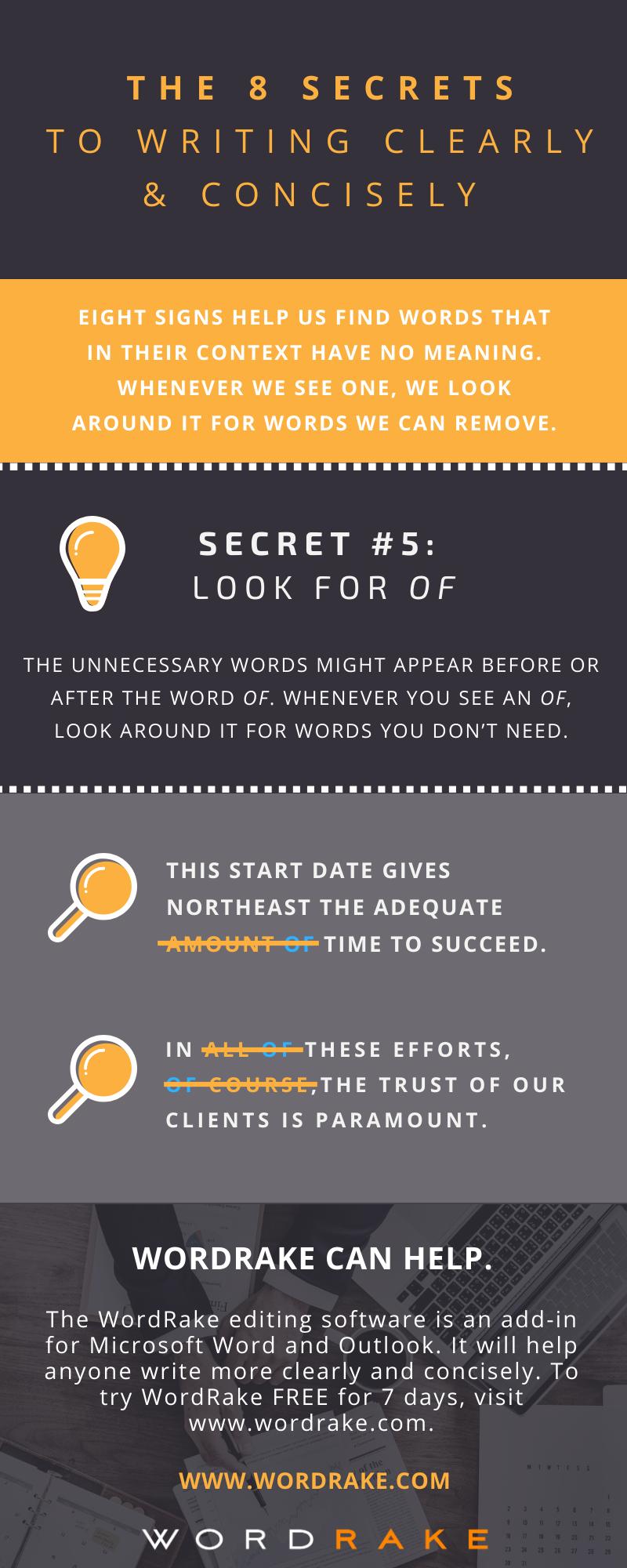 Concise Secret 5 - Of (Long)