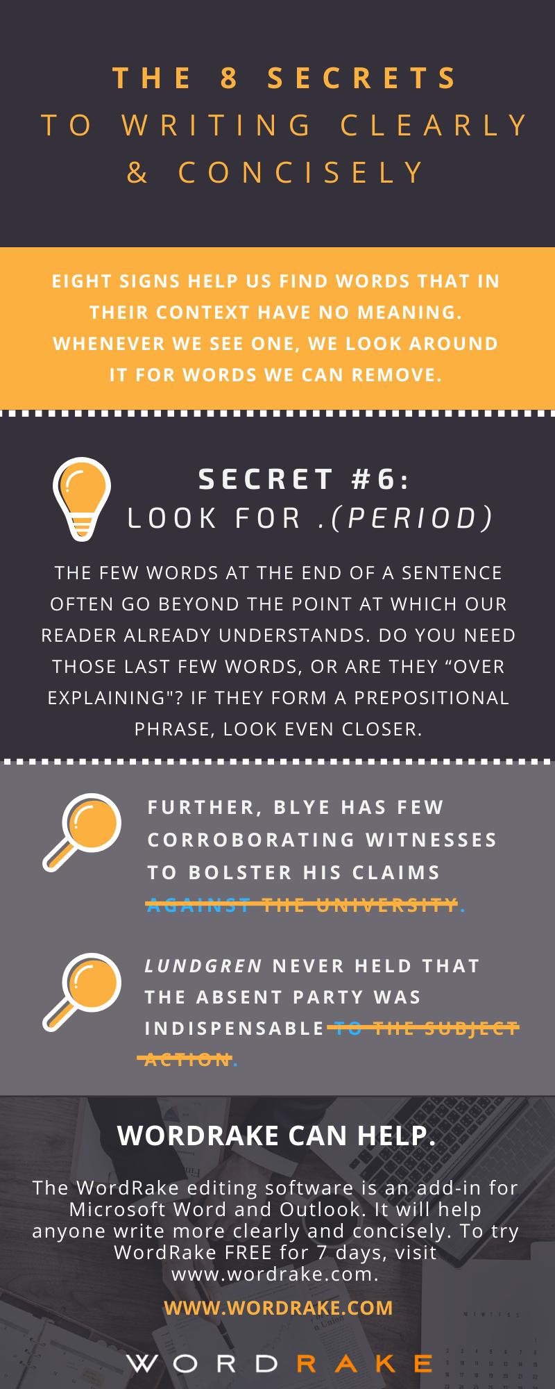 Concise Secret 6 - Period (Long)