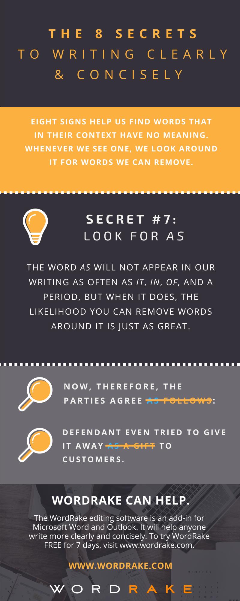 Concise Secret 7 - As (Long)