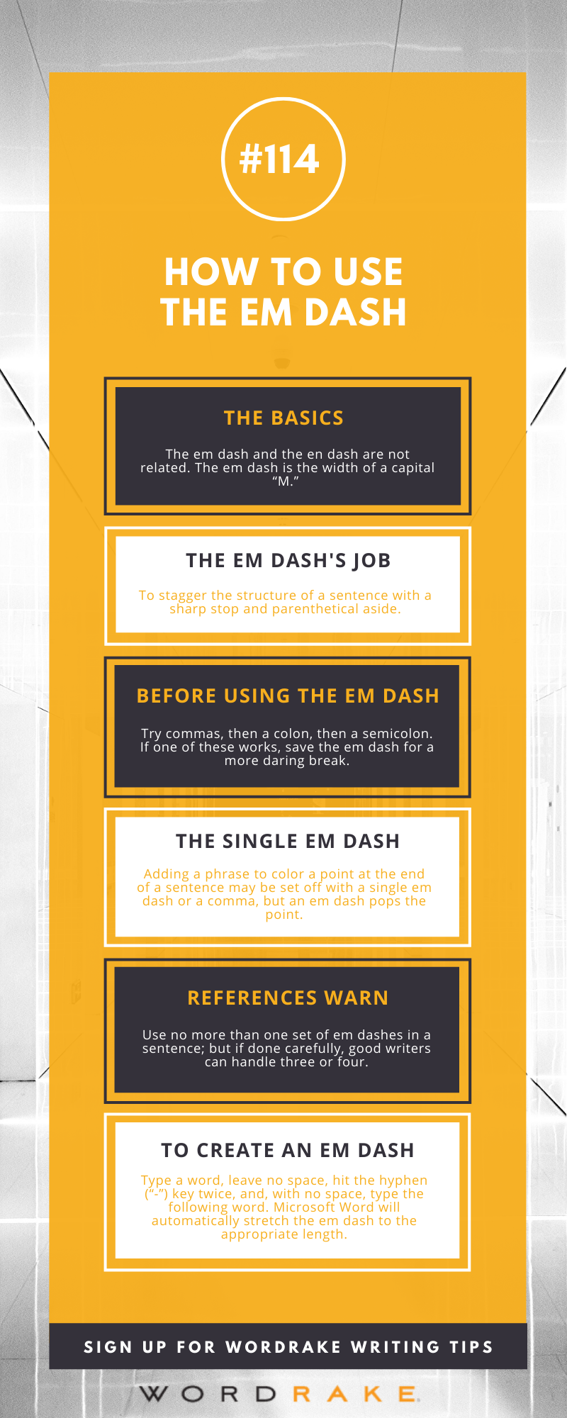 WT 114 - How to Use the Em Dash (Long)