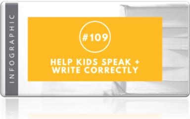 Help Kids speak and write correctly