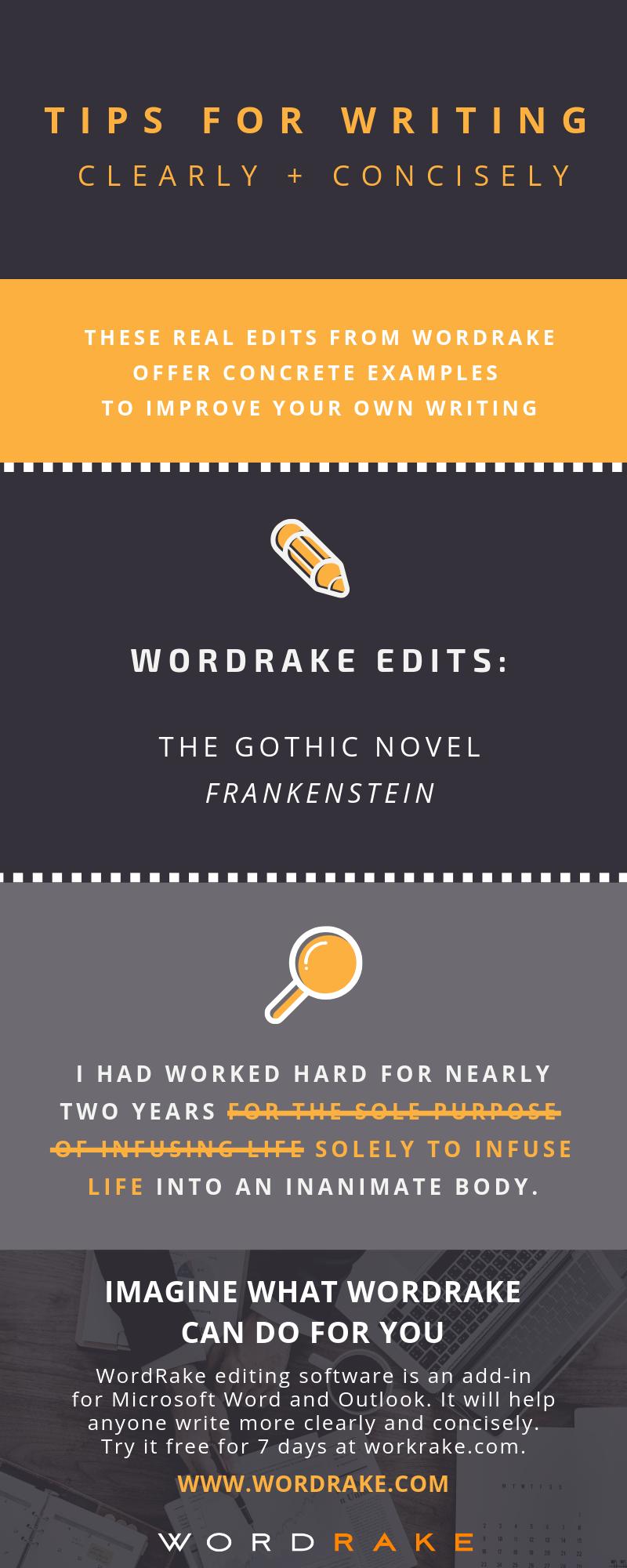 Edit Example - Frankenstein (Long)