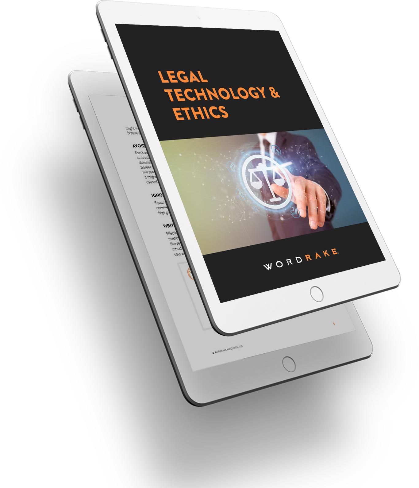 Legal Tech Video 3D Image
