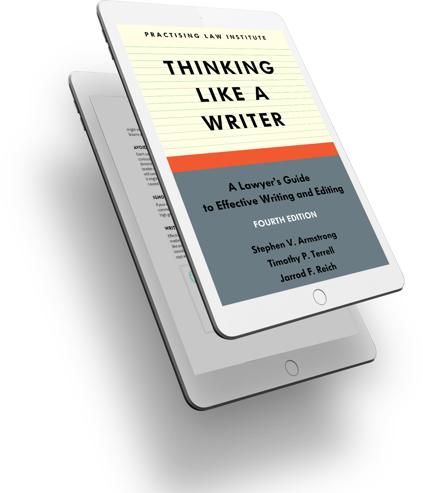 Thinking Like a Writer cover - 3D