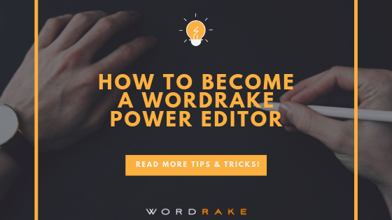 Title Graphic_How to Become a Wordrake Power Editor