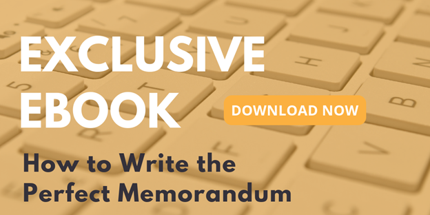 How to Write the Perfect Memorandum